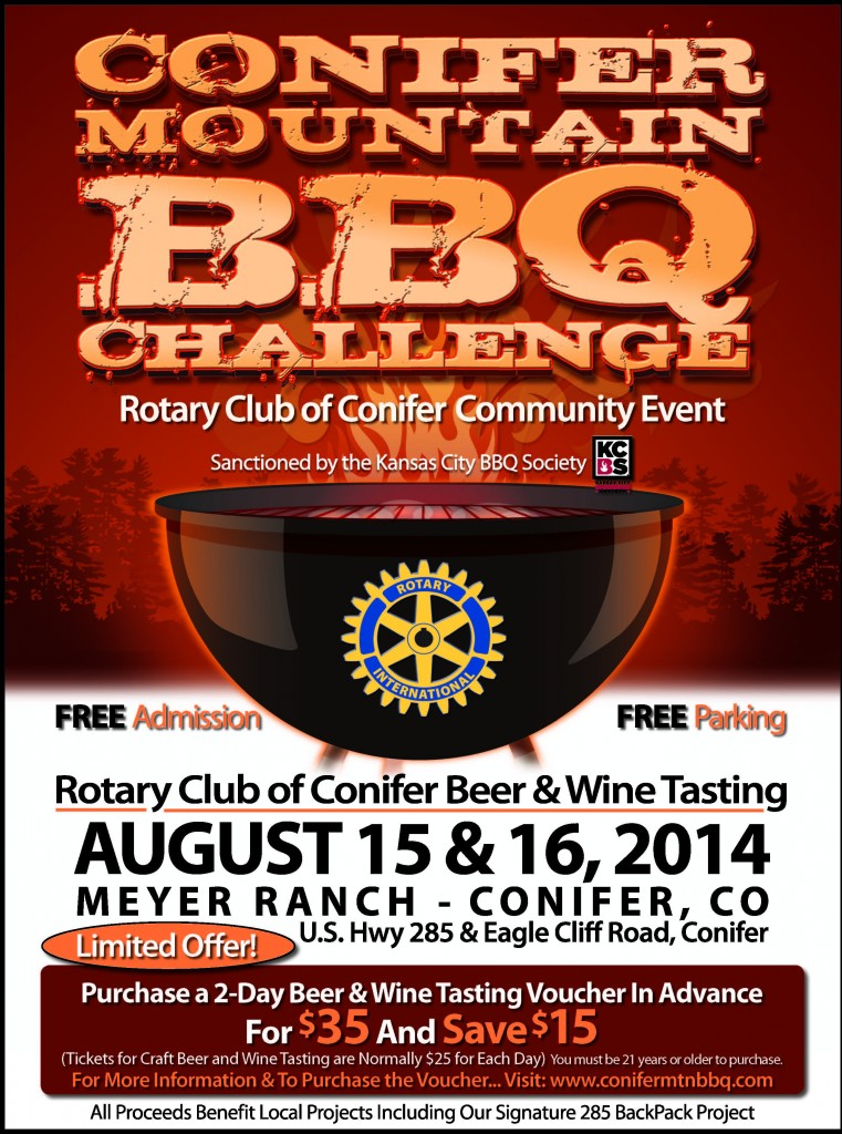 Conifer Mountain BBQ Challenge