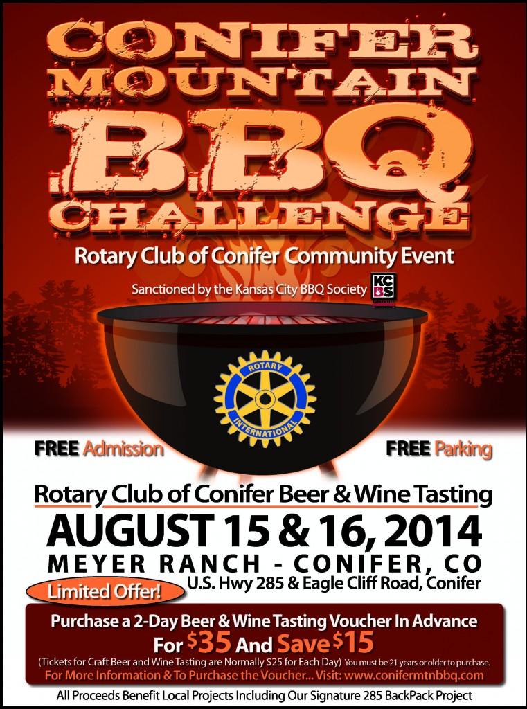 Conifer Mountain BBQ Challenge